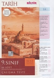 Kültür Yayıncılık - Kültür Yayıncılık 9. Sınıf Tarih BEST Çalışma Testi