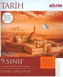 Kültür Yayıncılık - Kültür Yayıncılık 9. Sınıf Tarih BEST Konu Anlatım