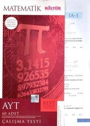 Kültür Yayıncılık - Kültür Yayıncılık AYT Matematik BEST Çalışma Testi
