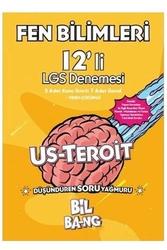Kültür Yayıncılık - Kültür Yayıncılık LGS Fen Bilimleri Bilbang Usteroit 12'li Deneme
