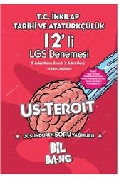 Kültür Yayıncılık - Kültür Yayıncılık LGS T.C. İnkılap Tarihi ve Atatürkçülük Bilbang Usteroit 12'li Deneme