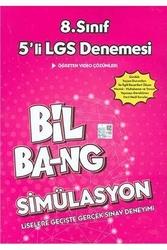 Kültür Yayıncılık - Kültür Yayınları 8. Sınıf LGS Simülasyon Bil Bang 5 li Denemesi