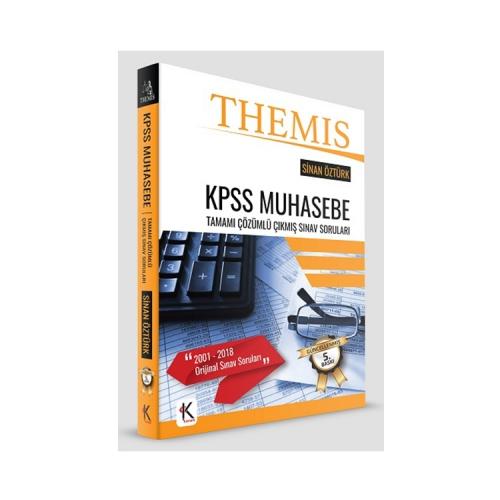 Kuram Kitap THEMİS KPSS Muhasebe Tamamı Çözümlü Çıkmış Sınav Soruları