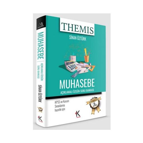 Kuram Kitap THEMİS Muhasebe Açıklamalı Özgün Soru Bankası