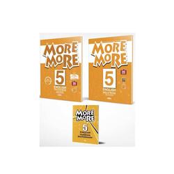 Kurmay ELT - Kurmay ELT More and More English 5 Practice Book (Skills Book + Sözlük)