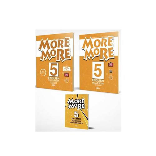 Kurmay ELT More and More English 5 Practice Book (Skills Book + Sözlük)