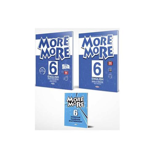 Kurmay ELT More and More English 6 Practice Book (Skills Book + Sözlük)
