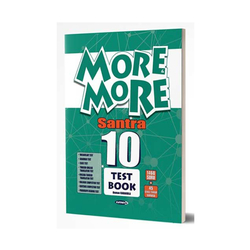 Kurmay ELT - Kurmay ELT More and More English 10 Santra Test Book