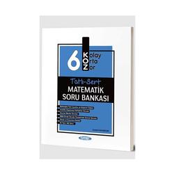 Kurmay Okul Yayınları - Kurmay Okul Yayınları 6. Sınıf Matematik KOZ Tatlı Sert Soru Bankası
