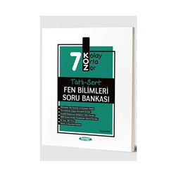 Kurmay Okul Yayınları - Kurmay Okul Yayınları 7. Sınıf Fen Bilimleri KOZ Tatlı Sert Soru Bankası