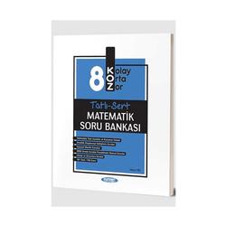 Kurmay Okul Yayınları - Kurmay Okul Yayınları 8. Sınıf Matematik KOZ Tatlı Sert Soru Bankası