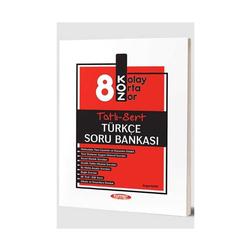 Kurmay Okul Yayınları - Kurmay Okul Yayınları 8. Sınıf Türkçe KOZ Tatlı Sert Soru Bankası