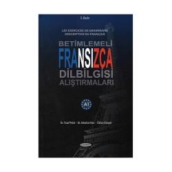 Kurmay Yayınevi - Kurmay Yayınları Betimlemeli Fransızca Dilbilgisi Alıştırmaları