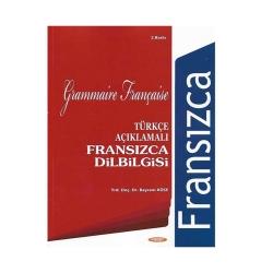 Kurmay Yayınevi - Kurmay Yayınları Türkçe Açıklamalı Fransızca Dilbilgisi