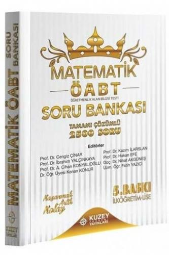 Kuzey Akademi Yayınları 2020 ÖABT Matematik Öğretmenliği 2500 Çözümlü Soru Bankası