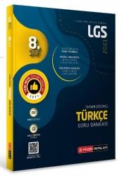 Pegem Akademi Yayıncılık - LGS Türkçe Tamamı Çözümlü Soru Bankası Pegem Akademi Yayıncılık