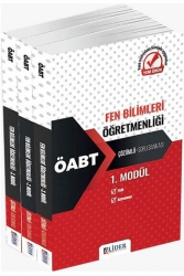 Lider Yayınları - Lider Yayınları 2021 ÖABT Fen Bilimleri Öğretmenliği Çözümlü Modüler Soru Bankası Seti