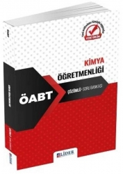 Lider Yayınları - Lider Yayınları - 2021 ÖABT Kimya Öğretmenliği Soru Bankası Çözümlü