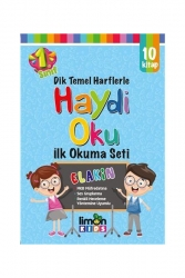 LimonKIDS - limonKIDS Haydi Oku 1. Sınıf İlk Okuma Seti 10 Cilt Takım