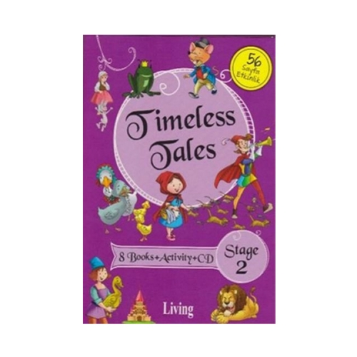 Living English Dictionary Timeless Tales 8 Books Activity CD Stage 2