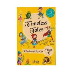 Living English Dictionary - Living English Dictionary Timeless Tales 8 Books Activity CD Stage 3