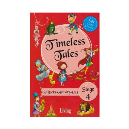 Living English Dictionary Timeless Tales 8 Books Activity CD Stage 4