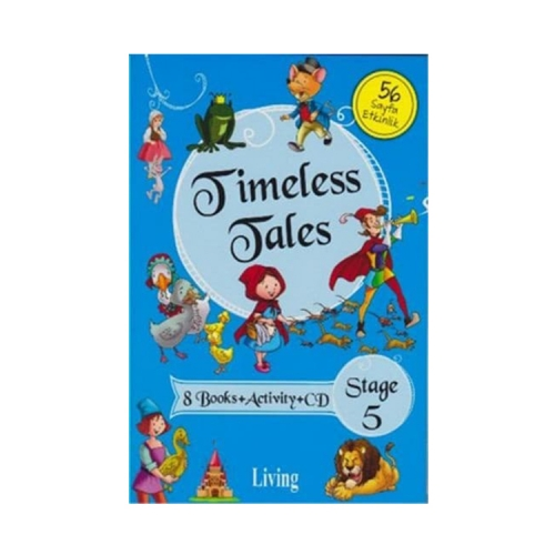 Living English Dictionary Timeless Tales 8 Books Activity CD Stage 5