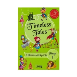 Living English Dictionary - Living Stage 1- Timeless Tales 8 Books + Activity + CD