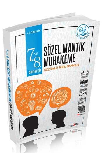 Lodos Yayınları - Lodos Yayınları 7. ve 8. Sınıf Sözel Mantık Konu Anlatımlı Çözümlü Soru Bankası