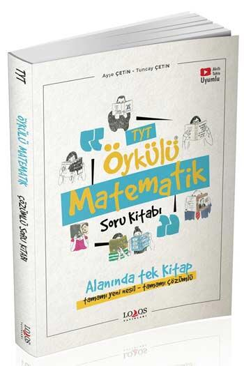 Lodos Yayınları - Lodos Yayınları TYT Öykülü Matematik Çözümlü Soru Kitabı