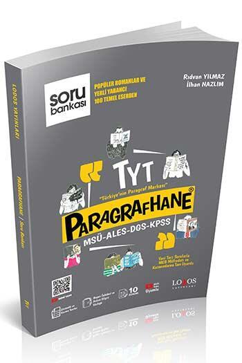 Lodos Yayınları - Lodos Yayınları TYT Paragrafhane Soru Bankası