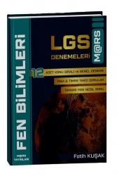 Mars Yayınları - Mars Yayınları LGS Fen Bilimleri 12 Deneme - Fatih Kuşak Mars Yayınları