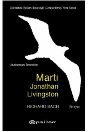 Epsilon Yayınevi - Martı Jonathan Livingston Epsilon Yayınları