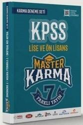 Master Karma - Master Karma KPSS Lise ve Ön Lisans 7 Farklı Yayın Çözümlü Deneme Seti