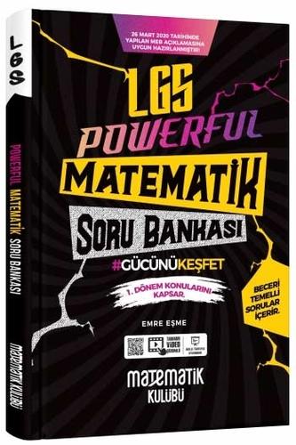 Matematik Kulübü LGS Powerful 1. Dönem Matematik Soru Bankası
