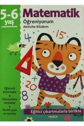 Çiçek Yayınevi - Matematik Öğreniyorum 5 6 Yaş Aktivite Kitabım Çiçek Yayınevi
