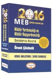 Yediiklim Yayınları - MEB Müdür Yardımcılığı ve Müdür Başyardımcılığı Konu Anlatımlı Soru Bankası Yediiklim Yayınları 2016