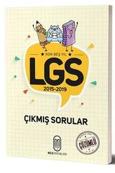 MEG Yayınları - MEG Yayınları LGS Son 5 Yıl Çözümlü Çıkmış Sorular