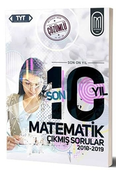 MEG Yayınları - MEG Yayınları TYT Matematik Son 10 Yıl Çözümlü Çıkmış Sorular