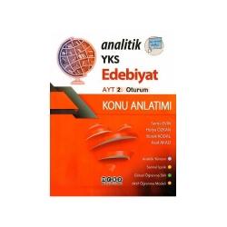 Merkez Yayınları - Merkez Yayınları AYT Analitik Edebiyat Konu Anlatımı