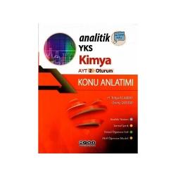 Merkez Yayınları - Merkez Yayınları AYT Analitik Kimya Konu Anlatım