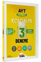 Metin Yayınları - Metin Yayınları AYT Sayısal Kolonya 3 Deneme