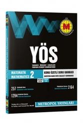 Metropol Yayınları - Metropol Yayınları Matematik-2 Konu Anlatımlı Soru Bankası Başlangıç Seviye