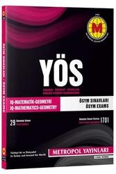 Metropol Yayınları - Metropol Yayınları YÖS IQ Matematik Geometri ÖSYM Sınavları