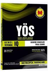 Metropol Yayınları - Metropol Yayınları YÖS IQ Genel Yetenek 35 Deneme Sınavı