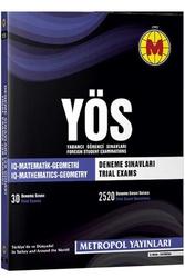 Metropol Yayınları - Metropol Yayınları YÖS IQ Matematik Geometri 30 Deneme Sınavı