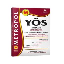 Metropol Yayınları - Metropol Yayınları YÖS Matematik Tüm Konular Konu Açıklamalı Örnek Çözümlü