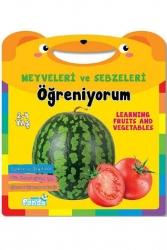 Mavi Panda Yayınları - Meyveler ve Sebzeleri Öğreniyorum Mavi Panda Yayınları