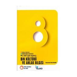Mikro Hücre Yayınları - Mikro Hücre Yayınları 8. Sınıf Nano Din Kültürü ve Ahlak Bilgisi Soru Bankası