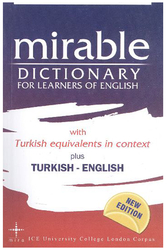 Mira Yayıncılık - ​Mira Yayıncılık Mirable Dictionary For Learners of English